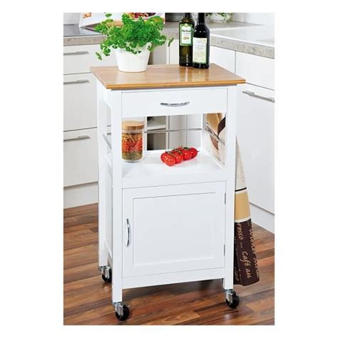 desserte de cuisine à roulettes desserte de cuisine meuble de rangement à rou achat