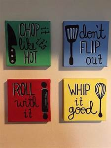 12 canvas painting ideas you can easily diy diy ideas for Kitchen colors with white cabinets with canvas wall art quotes diy