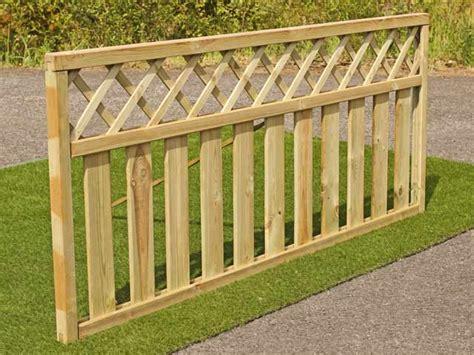 Design Garden Fence Panels