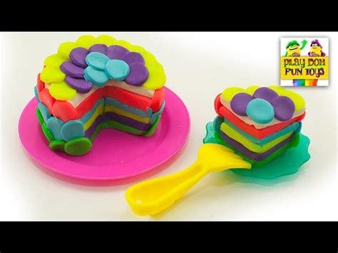 play doh birthday cake party dessert playdough art