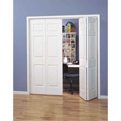 Customized Closet Doors by Shop Reliabilt Hollow 6 Panel Bi Fold Closet Interior