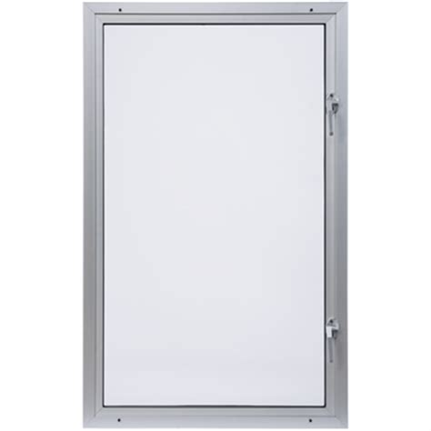 standard aluminum casement window      window width      window height