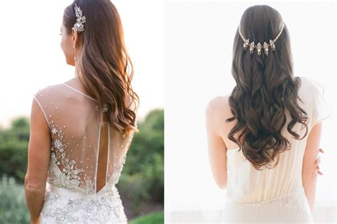 Wedding Hairstyles Down : 18 Dreamy Ways To Wear Your Hair Down On Your Wedding Day