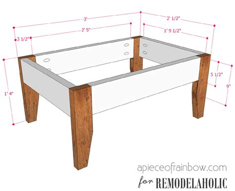 How To Stain Wood Deck by Remodelaholic Build An Easy Patio Set With Benches And A