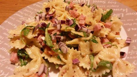 salade de pates chaude plats de p 226 tes archives de lau 224 la bouche