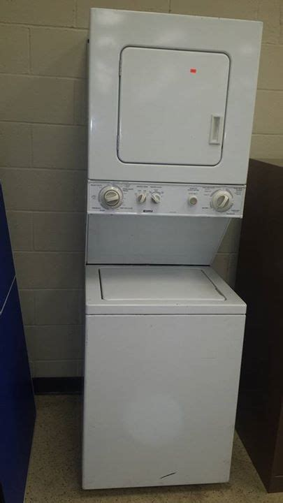 kenmore stackable apartment size washer dryer allu