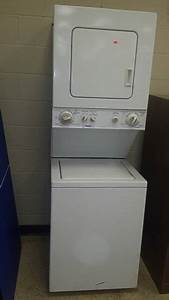 Kenmore stackable apartment size washer dryer all4u for Stackable apartment washer dryer