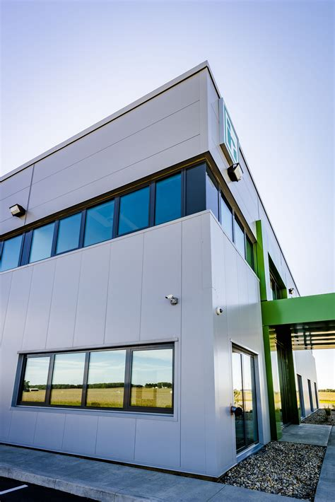 pin   weather insulated panels  haldrup usa administration buiding ossian indiana