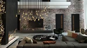 Dark, Interior, Style, -, Modern, Luxury, Living, Room, Ideas