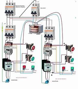 El U00e9ctricosingtello Blogspot Com  Diagrama De Tablero Con Contactores  Comandos Marcha  Ojos De Buey