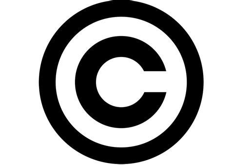 copyright symbol   computer