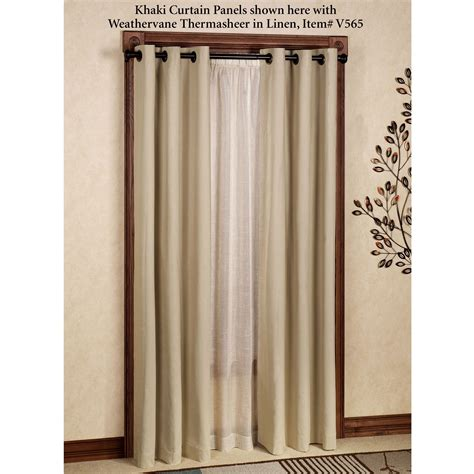 Grommet Curtains by Weathermate Solid Thermalogic Tm Room Darkening Grommet