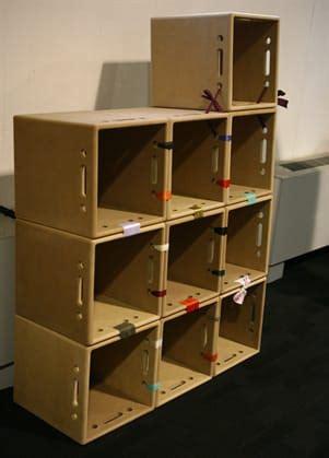 costruire libreria in legno pin riciclo creativo casse frutta legno e pallet foto 19