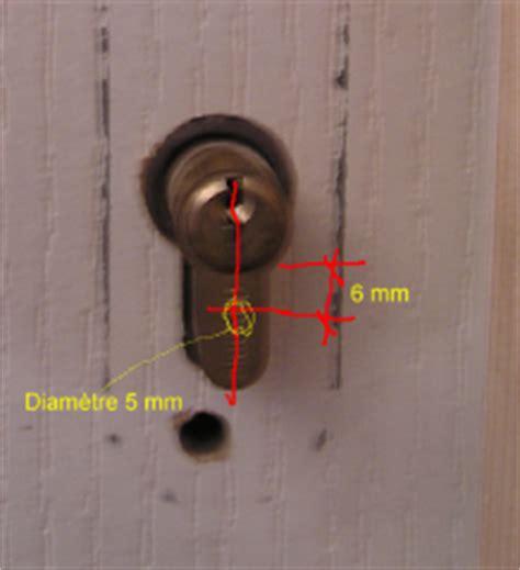 Ouvrir Une Porte De Maison (fermée à Clef) Sans Clef?