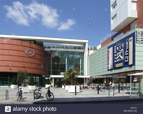 le havre shopping centre coty city centre shopping mall le havre stock photo royalty free image