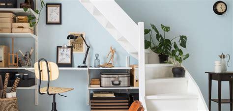 Hoe Breek Je In Een Huis by Trapkast Maak Een Werkplek Wooninspiratie Ikea