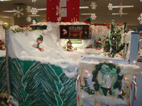 christmas decorating themes  workplace festival