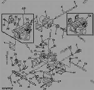 Intake Manifold  Fuel Injector And Throttle Body Assembly Within John Deere Gator Parts Diagram