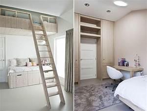 Lit Gain De Place : lit enfant gain de place maison design ~ Premium-room.com Idées de Décoration