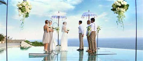 lokasi terbaik menikah  bali membuat tamu undangan