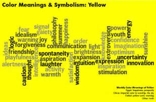 Colors Meanings Yellow