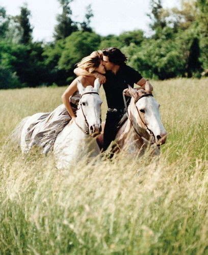 images couples cheval couleur