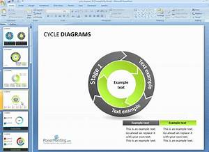 How To Customize Cycle Diagrams In Powerpoint