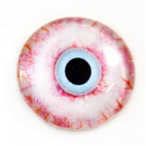 zombie eyes horror bloodshot glass eye 30mm eyeball doll fantasy