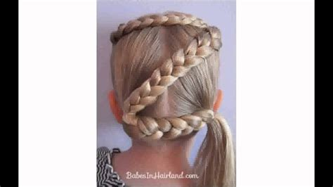 easy crazy hairstyles  girls youtube