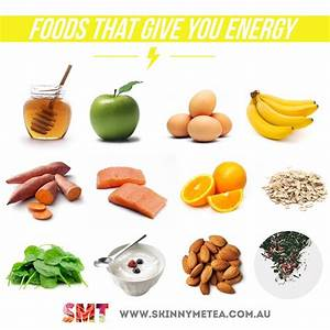 Foods that give energy | Healthy Lifestyle | Pinterest