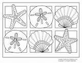 Coloring Pages Shell Medal Quill Oyster Printable Medals Summertime Getcolorings Colouring Olympic Summer Colorings sketch template