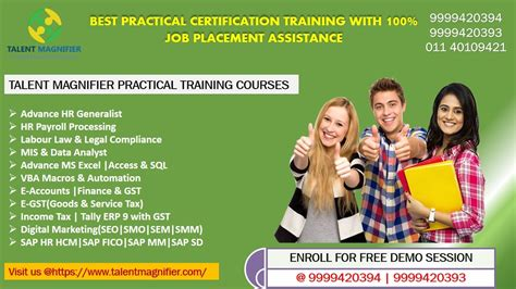 Job Oriented & Professional Certification Practical
