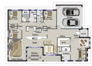 house plans with 4 bedrooms 4 bedroom house plans residential house plans 4 bedrooms modern 4 bedroom house plans