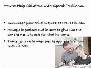 How to Help Children with Speech Problems