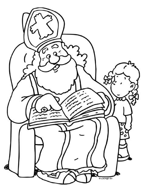 Sinterklaas Kleurplaat 2014 by Heelwegs Belang Gt Organisaties Gt Verenigingen