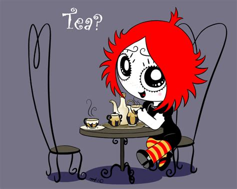 Teatime With Ruby By *empty-10 On Deviantart