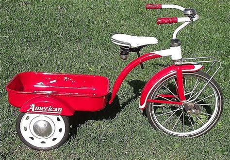 rare  fully restored pedal wagon tricycle
