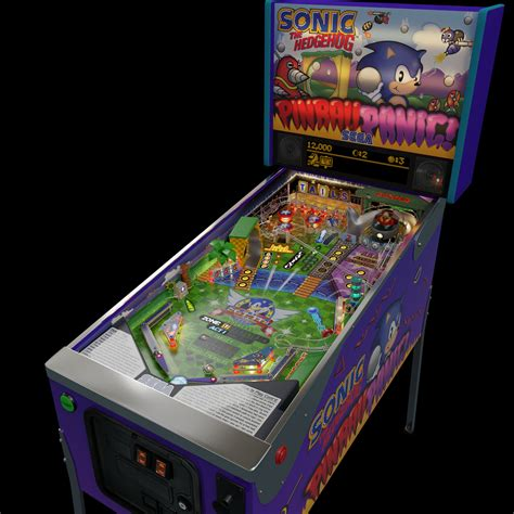 gmillernet sonic pinball machine
