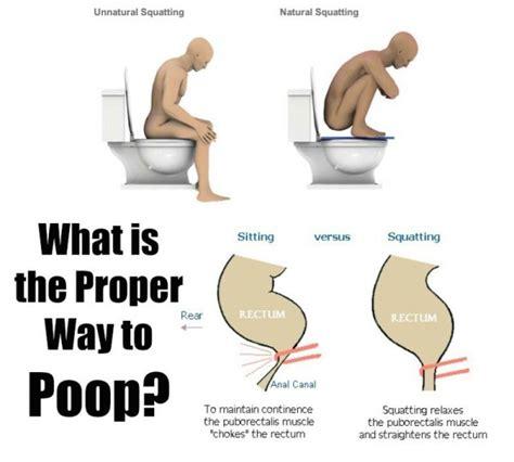 pooping  wrong feel healthy life