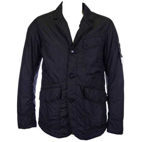 sik clothing island garment dyed quilted black blazer