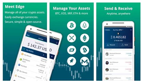 Neither edge nor any 3rd party can access users' funds or data within the edge wallet. 5 Best Mobile Cryptocurrency Wallets for Android - Changelly