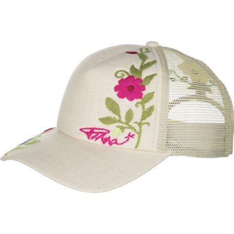 prana embroidered trucker hat womens backcountrycom
