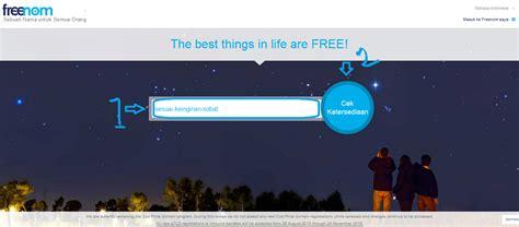 Cara Buat Noten by Cara Membuat Domain Gratis Di Freenom Nald Note