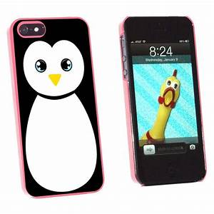 Penguin Cute Snap On Hard Protective Case for Apple iPhone ...