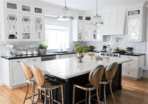 black kitchen islands black kitchen island with philippe starck kong counter stools transitional kitchen