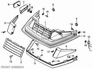 Honda Ch80 Elite 80 1985  F  Usa Parts List Partsmanual