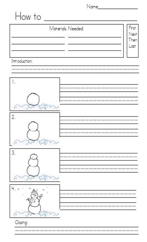 worksheets on procedural writing for grade 2 procedural writing checklist grade 2 1000 images about