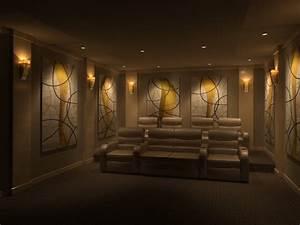 Home theatre room