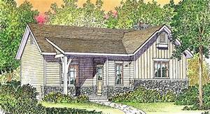 Plan, 22118sl, Cozy, Cottage, With, Vaulted, Bedroom, In, 2021