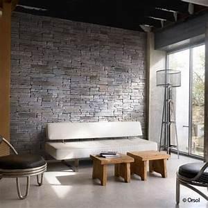 Mur Brique Salon : mur de pierre salon mur de la t l vision rappel ~ Zukunftsfamilie.com Idées de Décoration